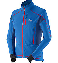 Salomon S-lab Motion Fit Ws Jkt Giacca da sci, Union Blue
