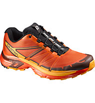 Salomon Wings Pro 2 scarpa trail running, Tomato Red/Clementine-X