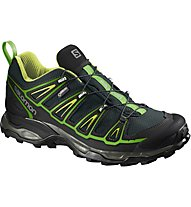 Salomon X Ultra 2 GTX - scarpe trekking, Green/Black