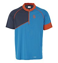 Scott Trail 20 S/SL Shirt, Diva Blue/Blue Nights