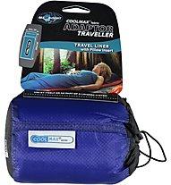 Sea to Summit Coolmax Adaptor Traveller - Schlafsackeinlage, Blue
