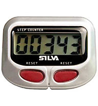 Silva Step Counter, Silver/Red