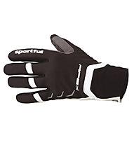 Sportful Guanti da sci di fondo Apex Race Glove, Black/White