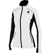Sportful Engadin W Wind Damen-Langlaufjacke, White/Black