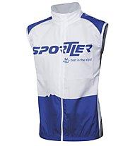 Sportler Sportler Gilet, White/Blue