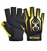 Sting Fusion Training Gloves, Black/Yellow