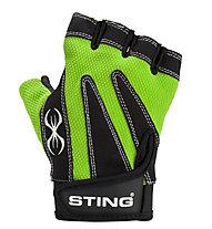 Sting Guanti fitness M1 Magnum, Black/Green
