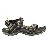Teva Tanza sandali sportivi, Black Olive
