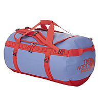 The North Face Base Camp Duffel L, Vintage Blue/Tomato Red