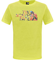 The North Face Reaxion T-Shirt Kinder, Sulphur Springs Green