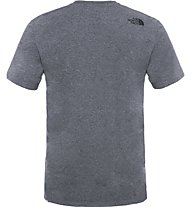 The North Face Easy Tee Herren T-Shirt, Grey