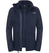 The North Face Evolve II Triclimate Jacket Giacca con cappuccio, Blue