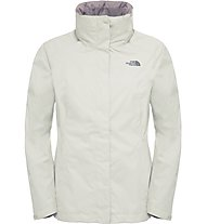 The North Face Evolve II Triclimate Jacket Giacca Hardshell, White