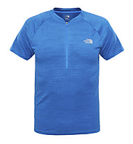 The North Face Flight Series 1/4 Zip T-shirt running, Bomber Blue