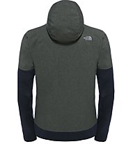 The North Face M Kilowatt Jacket Giacca con cappuccio fitness, Green/Black