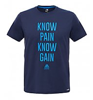 The North Face Graphic Reaxion Ampere T-shirt fitness, Blue