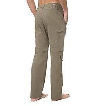 The North Face Trekker pantaloni zip-off trekking, Weimaraner Brown