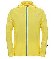 The North Face Storm Stow Jacket M - Laufjacke, Light Yellow