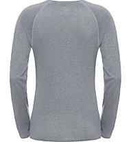 The North Face W Reax Amp L/S Maglia maniche lunghe fitness donna, Grey