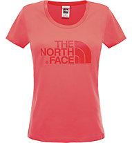 The North Face Easy T-Shirt trekking Donna, Radiant Orange