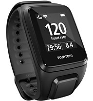 Tom Tom Runner 2 Cardio - GPS Uhr, Black