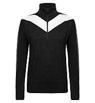 Toni Sailer Jacob Ski-Langarmshirt, Black/Bright White