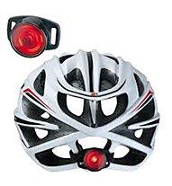 Topeak Tail Lux - luce per casco bici, Black/Red