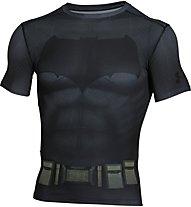 Under Armour batman suit ss, Grey/Black
