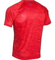 Under Armour Boxed Logo Printed T-Shirt Herren, Red/Black