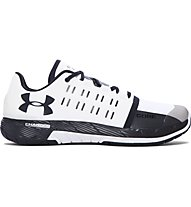 Under Armour Charged Core Trainingsschuh Herren, White/Black