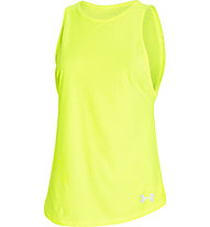 Under Armour Coolswitch Tank Top Laufshirt Damen, Yellow