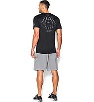 Under Armour Dark Side Club T-Shirt Star Wars Fitness, Black