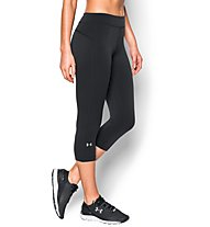 Under Armour HeadGear Armour Capri Laufhose Damen, Black/Black