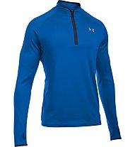 Under Armour No Breaks 1/4 Zip - maglia running, Blue
