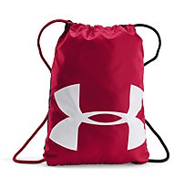 Under Armour Ozsee Sackpack Sportbeutel, Dark Red