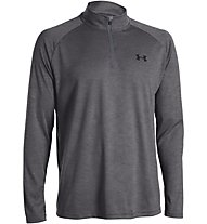 Under Armour Tech Longsleeve 1/4 Zip Herren, Dark Grey