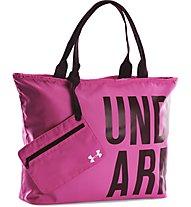 Under Armour UA Big Wordmark Umhängetasche, Rebel Pink