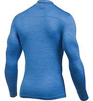 Under Armour Mock-Shirt UA ColdGear Armour Twist Kompressionsshirt Herren, Blue