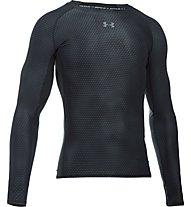 Under Armour HeatGear Kompressionsshirt, Black