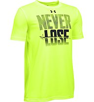 Under Armour UA Never Lose T-Shirt fitness bambino, Green