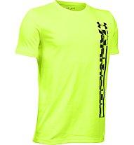 Under Armour Logo Sideline T-Shirt Jungen, Green