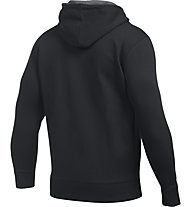 Under Armour UA Storm Rival Fleece Zip Giacca con cappuccio fitness, Black