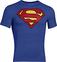 Under Armour Alter Ego Compression Shirt S/S, Superman (Royal)