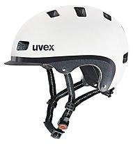 Uvex City 5 Radhelm, white metallic mat