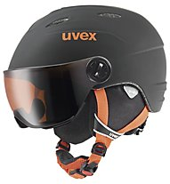 Uvex Junior Visor Pro, Black/Orange Mat
