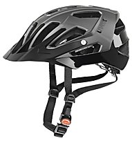 Uvex Quatro All-Mountain-Radhelm, darksilver mat-black