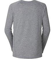 Vaude Boys Paul LS Shirt Maglia a maniche lunghe bambino, Grey