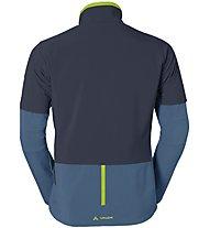 Vaude Men's Primasoft Jacket Giacca a vento ciclismo, Blue/Grey