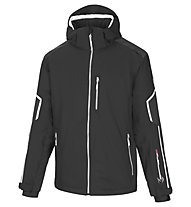 Vuarnet M-Caylus Jacket Man Skijacke, Black/White Sail