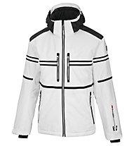 Vuarnet M-Lofer Jacket Man Skijacke, White Sail/Black